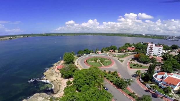 Rotonda del Malecón San Pedro de Macorís.