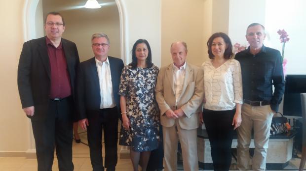 Embajadora Lourdes Victora-Kruse, Dr. György Suha Embajador Comisionado Ministerial del Min de Rel. Ext de Hungria con empresarios húngaros