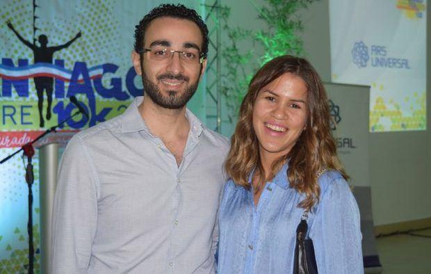 Víctor García y Natasha Méndez.