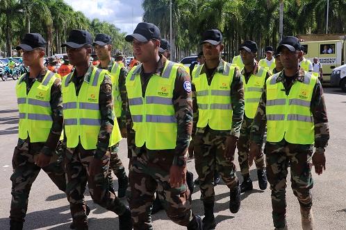 Miles de socorristas en operativo prevención por Día de la Altagracia