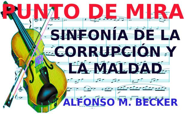 Sinfonía de la corrupción y la maldad