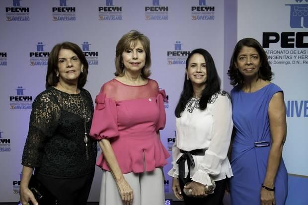 Zoraida Pimentel, Arabelva Madera, Aracelis Hernández, Francisca Jaquez