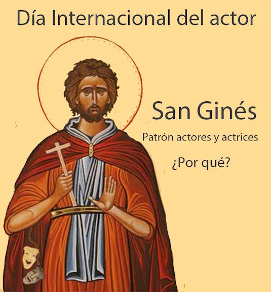 Hoy 26 de agosto es el Día Internacional del Actor, ¿por qué?