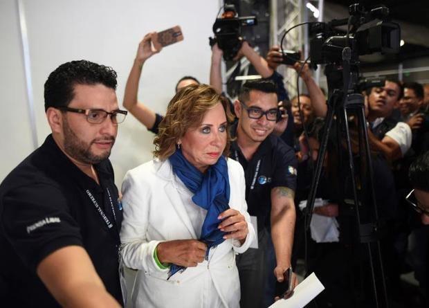 Socialdemócrata y exprimera dama de Guatemala, Sandra Torres.