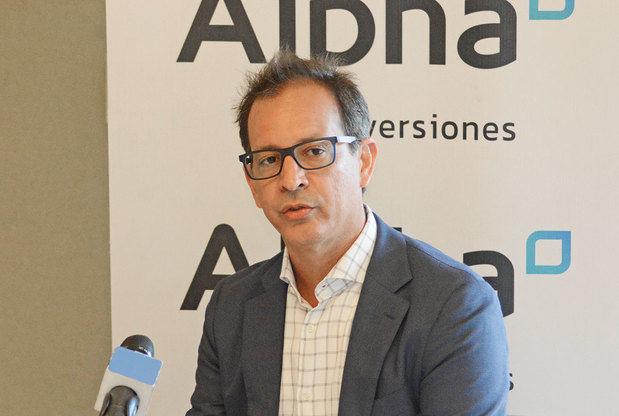 Vicepresidente Ejecutivo de Alpha Inversiones, Santiago Camarena.