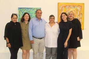 Sara Hermann, Nicole Kaufmann, Fernando Ferreras, Mónica Ferreras, Daniela Ferreras y Judith Fernandez