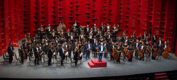 Orquesta Sinfónica Nacional.
