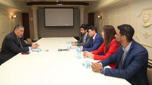 Ejecutivos empresa marroquí SOMAGEC visitan a ministro de Políticas Integración Regional, Miguel Mejía y muestran interés invertir en República Dominicana.