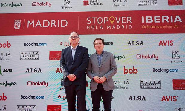Iberia y el Ayuntamiento de Madrid presentan Stopover Hola Madrid