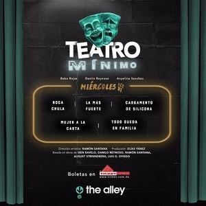Cartel Teatro Mínimo