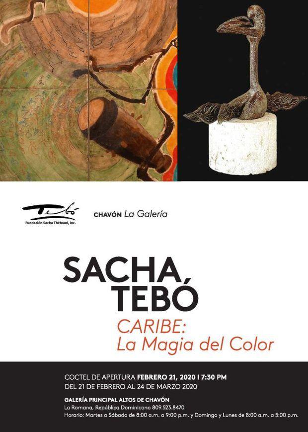 """Chavón La Galería presenta la exposición """"Caribe: La Magia del Color"""" del afamado artista fenecido Sacha Tebó"""