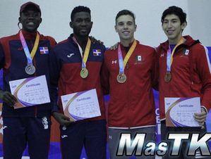 La selección nacional de Taekwondo conquistó cinco medallas en el Abierto de México celebrado en Puerto Vallarta.