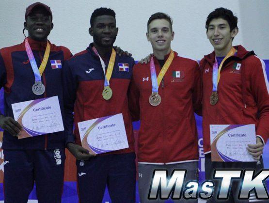 Pie, Hernández y Rodríguez ganan oro en Abierto de México de taekwondo