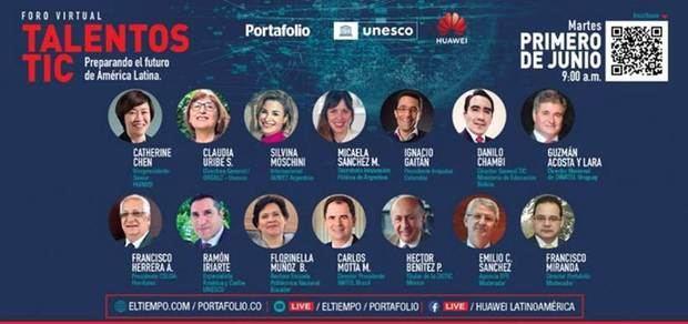Foro Virtual: Talentos TIC el martes 1ro. de junio