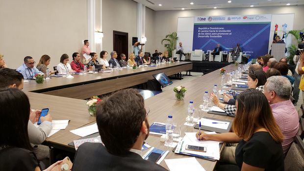 """Taller """"República Dominicana: el camino hacia la revolución de los datos para promover el Desarrollo Sostenible."""