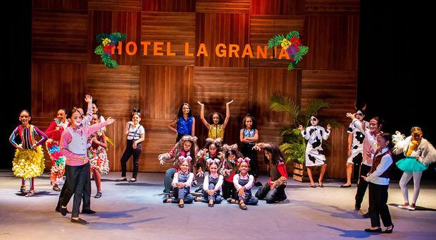 Festival de cierre de año escolar del Teatro Cúcara - Mácara