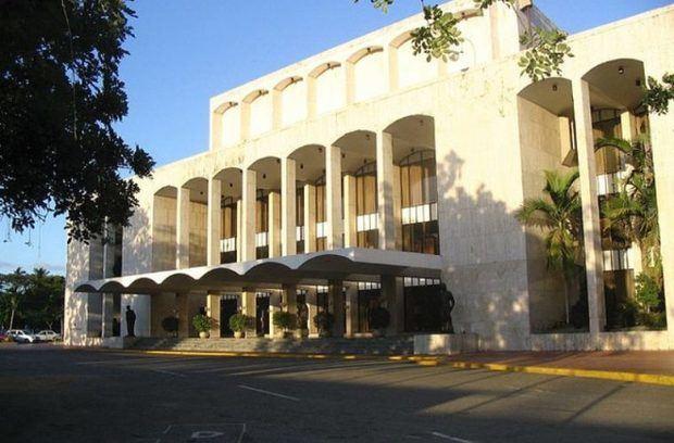 Teatro Nacional Dominicano.