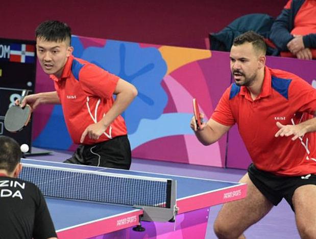 Tenis de mesa asegura bronce en dobles masculinos