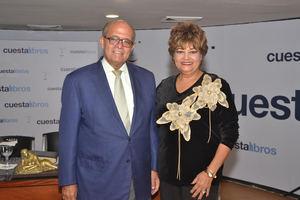 José Silié Ruiz y Alma Portorreal.