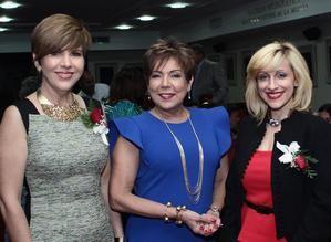 Theresa Sullivan, Olga de los Santos y Vivi Keyfer.