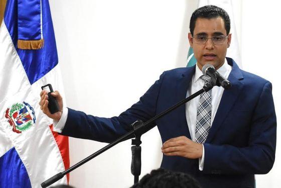 Ministro  de Economía, Juan Ariel Jiménez.
