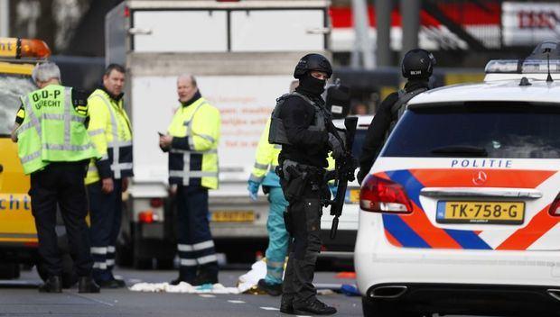 """Buscan a varios huidos en relación con """"posible"""" acto terrorista en Utrecht"""