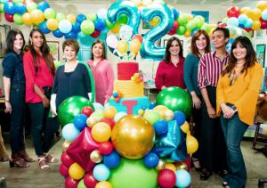 Patricia Cocco, Adrianny Almonte, Minerva de Cocco, Miguelina Peña, Katherine Cocco, Maureen Cocco, Yin Lai Trinidad y Niurka Pérez.