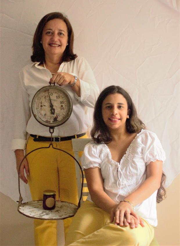 Isabel López junto a su hija, Ana Jacobo, crearon Todo Verde a finales del 2019.