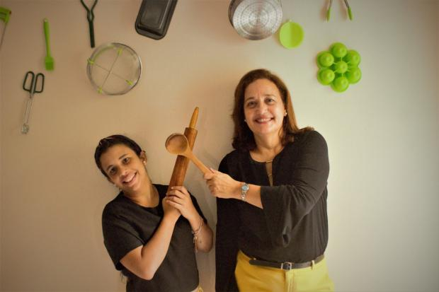 Ana Jacobo e Isabel López,  fundadoras de Todo Verde Cocina Creativa.