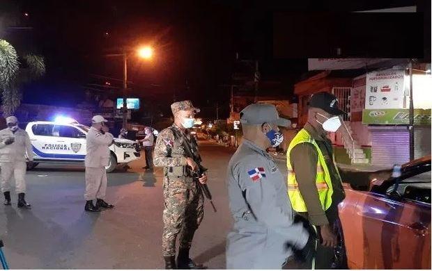 Detenidas 531 personas en la segunda noche del toque de queda