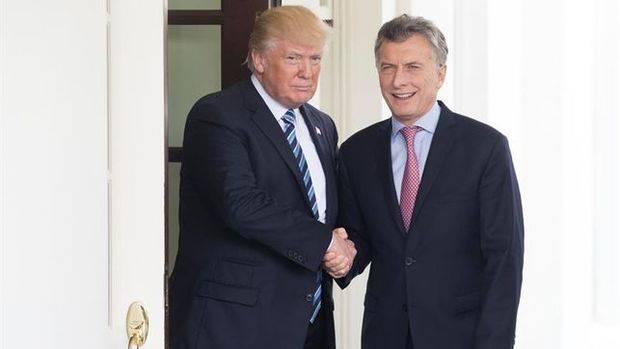 """Trump y Macri acuerdan cooperar para """"restaurar la democracia"""" en Venezuela"""
