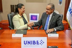 La Universidad Iberoamericana (UNIBE), y la Dirección General de Cine (DGCINE), firmaron un convenio en la sede de esta universidad.