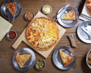 Entre las comidas más populares que ordenaron los dominicanos está la pizza