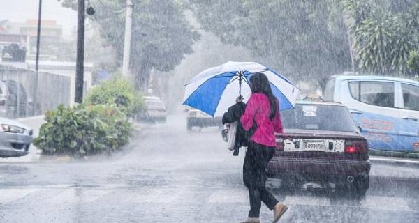Precipitaciones escasas en el país