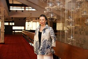 Presidenta de la Fundación Sinfonía, Margarita Miranda de Mitrov.