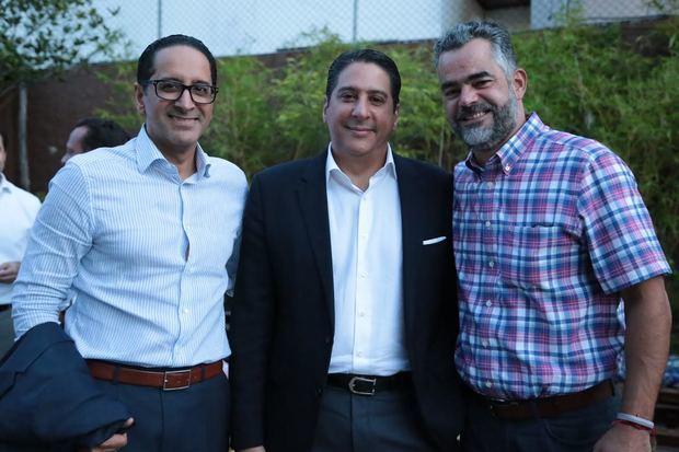Pepe Agramonte, Jesús Agramonte y Raúl Peña.
