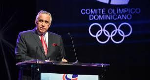 Presidente del COD, Luis Mejía.