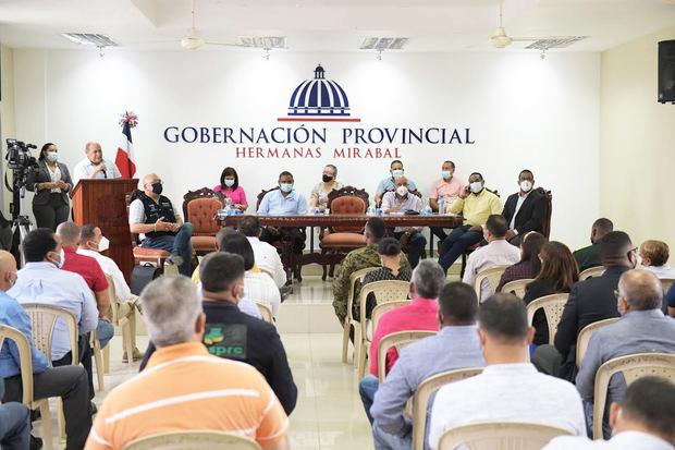 INFOTEP participa en inicio de jornada de vacunación en la Provincia Hermanas Mirabal