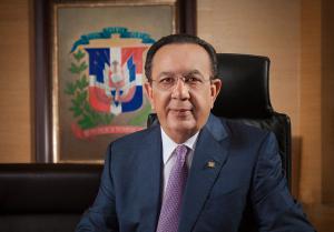 El gobernador del BCRD, Héctor Valdez Albizu, representó al país ante el FMI