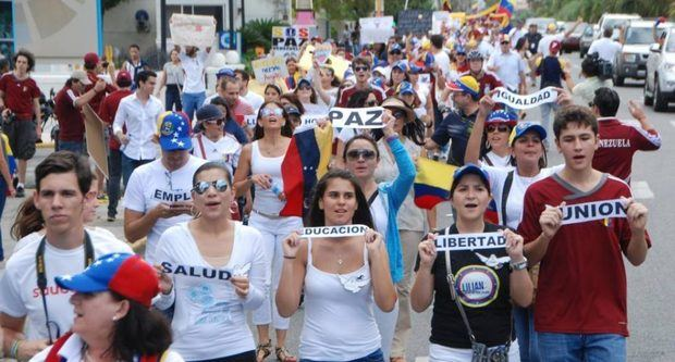 Venezolanos en RD.