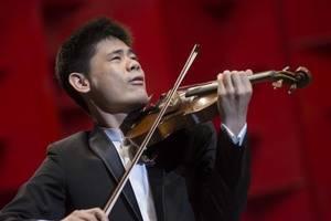 Violinista Ángelo Xiang Yu.