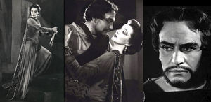 Vivian Leigh y Laurence Olivier en Macbeth.