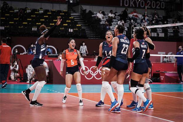Las dominicanas cierran la fase de grupos con una victoria sobre Japón.