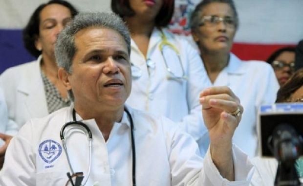 Waldo Ariel Suero, presidente del Colegio Médico Dominicano, CMD.