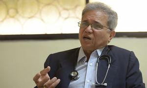 El presidente del Colegio Médico Dominicano (CMD), Waldo Suero.