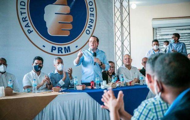 PRM se reúne con dirigencia provincial para dar a conocer nuevos objetivos