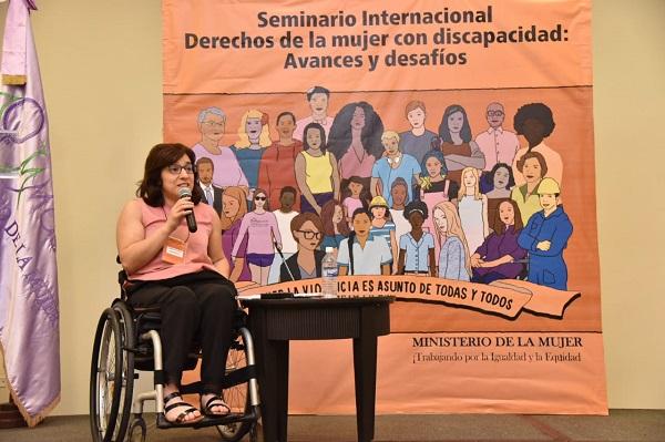 """Analizan desafíos en el """"Seminario Internacional sobre Derechos de la Mujer con Discapacidad"""""""