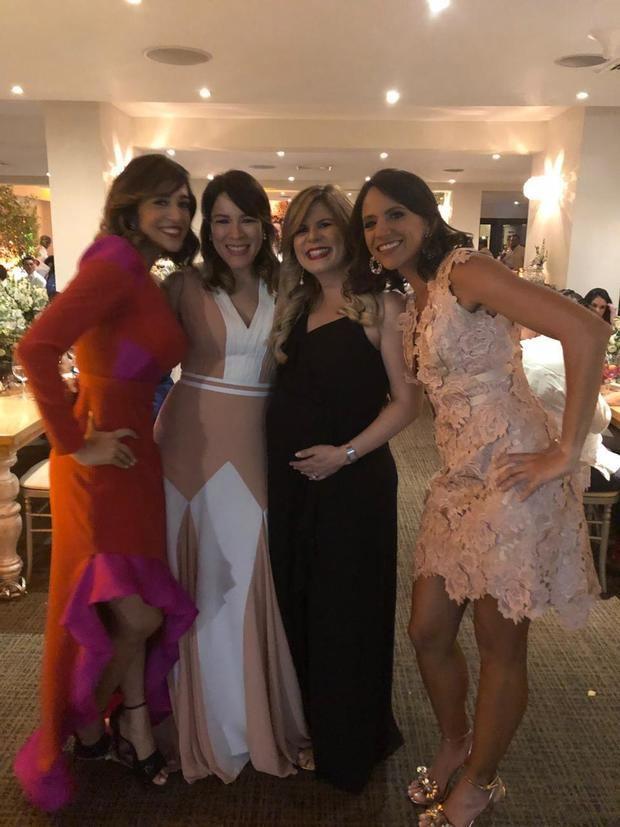 Carolina Silie, Eileen Jiménez, Patricia Mena y Laura Medina.