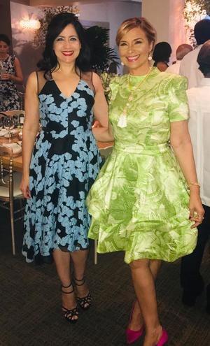 Marisol Vicens y María Eugenia Mañón.