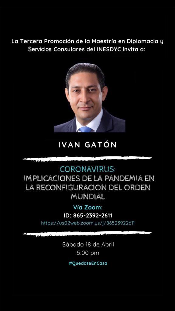 Charla Iván Gatón.